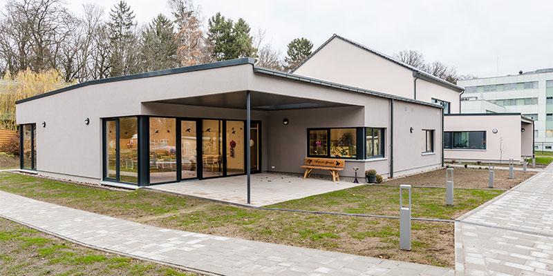 Vereinshaus und EKH